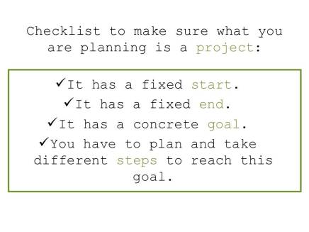 Checklist Project